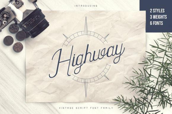 Highway Font
