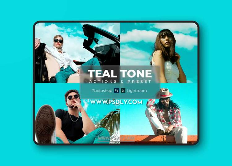 Lightroom Presets & Photoshop Actions - Teal Tone