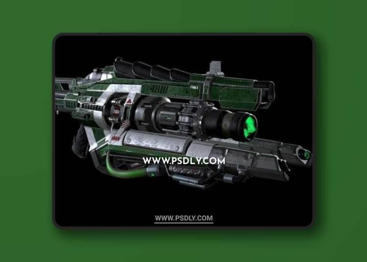 Link Gun 3D Models
