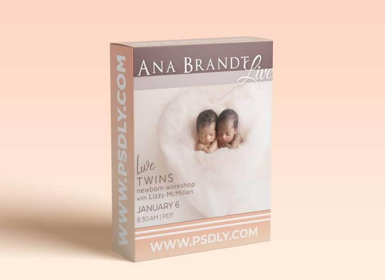 Live Newborn Twin Posing Workshop - Ana Brandt