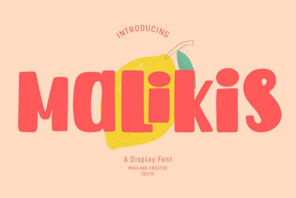 Malikis Font