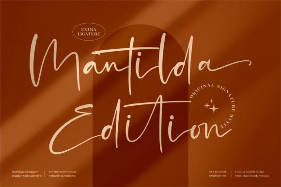 Mantilda Edition Font