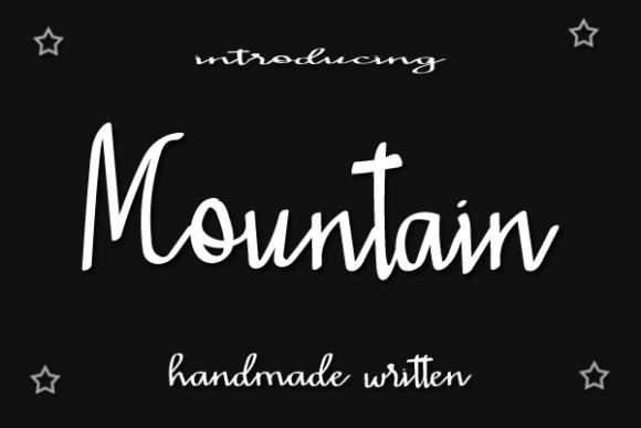 Mountain Beauty Font