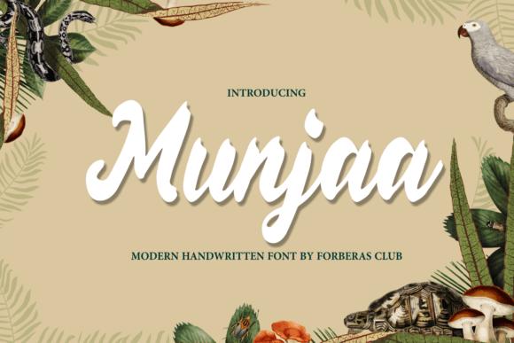 Munjaa Font