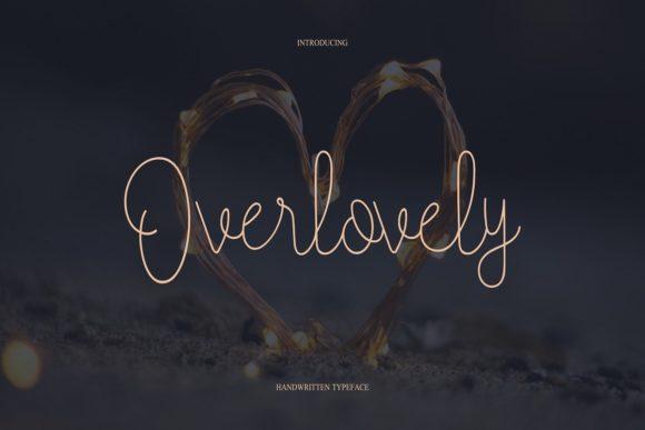 Overlovely Font