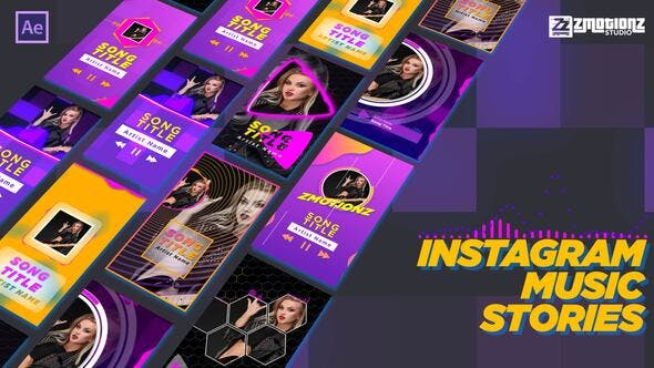 Videohive Instagram Music Visualizer 34114786