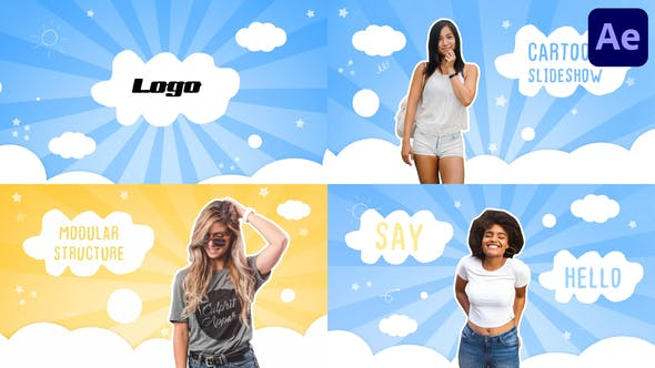Videohive Pretty Slideshow | After Effects 34115930