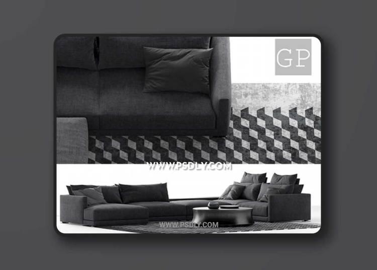Poliform Bristol Composiiton-B Sofa 3D Models