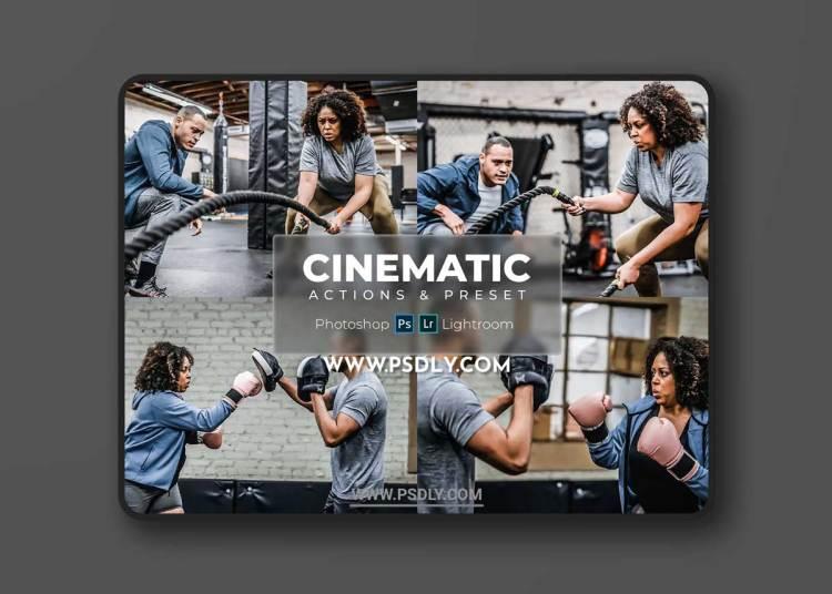 Presets & Actions - Dark Cinematic