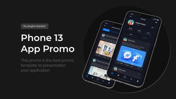 Videohive App Promo Phone 13 Pro 34134213