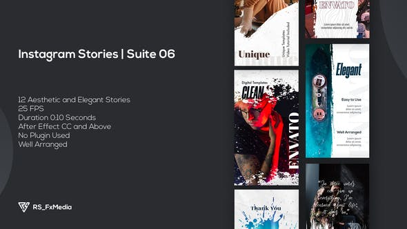 Videohive Instagram Stories   Urban Brush   Suite 06 34099213