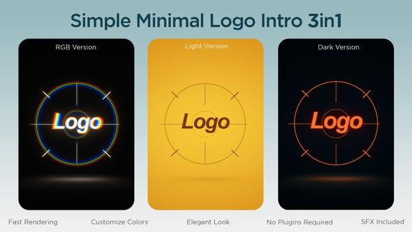 Videohive Simple Minimal Logo 34130529