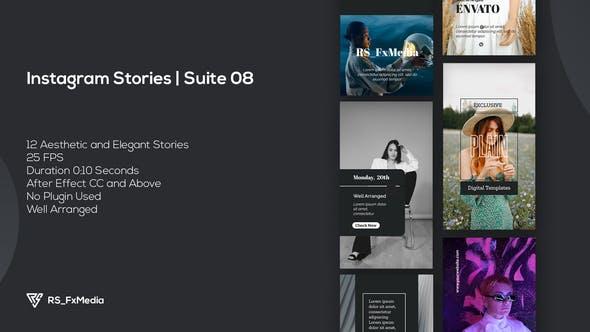 Videohive Instagram Stories | Dynamic Plain | Suite 08 34099273