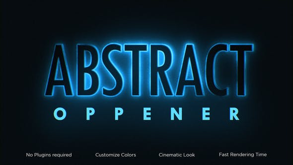 Videohive Abstract Classic Opener 34093112