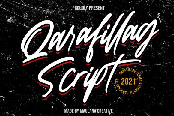 Qarafillag Script Font