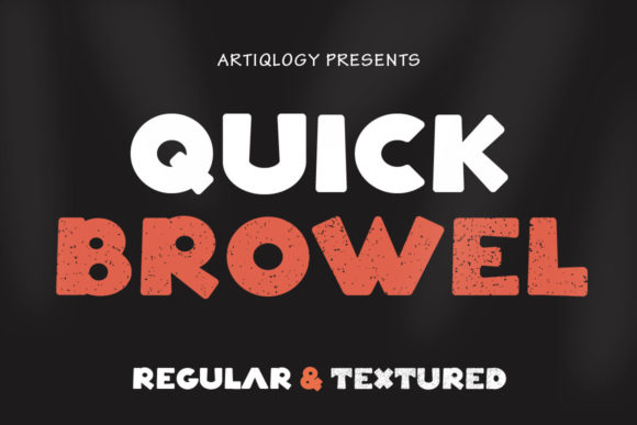 Quick Browel Font