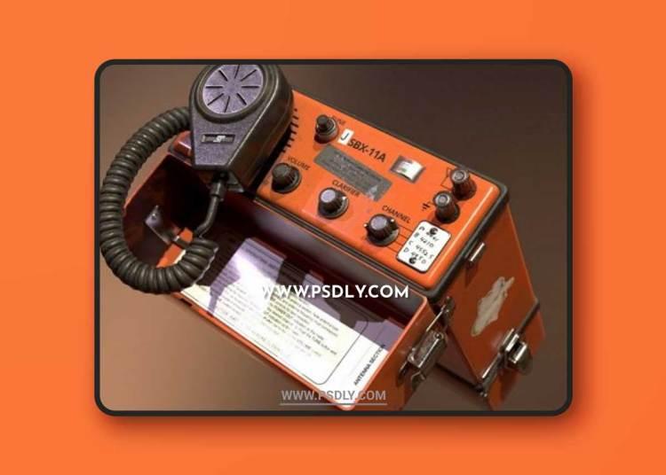 Radio Telephone 3D Models