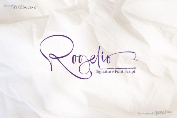 Rogelio Script Font