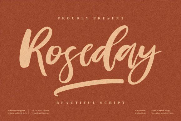 Roseday Font