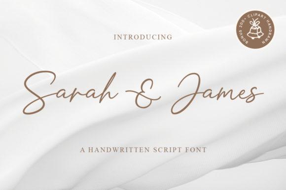 Sarah & James Font