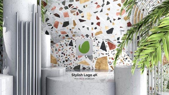 Videohive Stylish Logo 4K 34153017