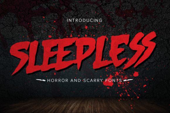 Sleepless Font