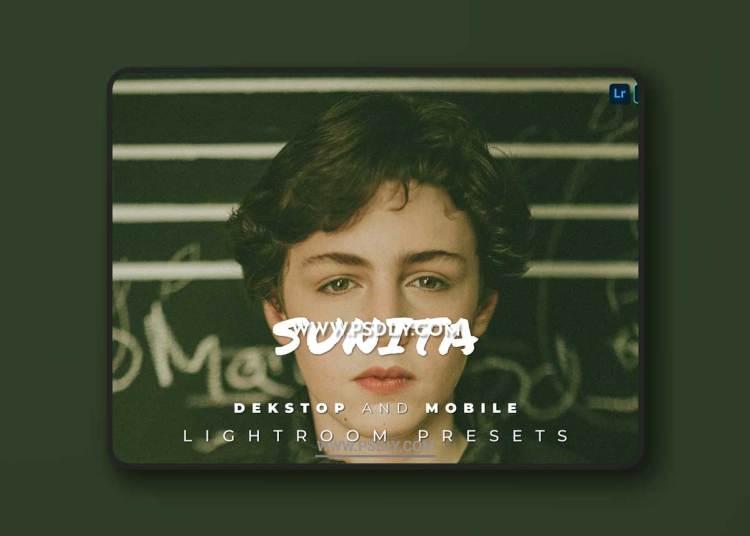 Sunita Desktop and Mobile Lightroom Preset