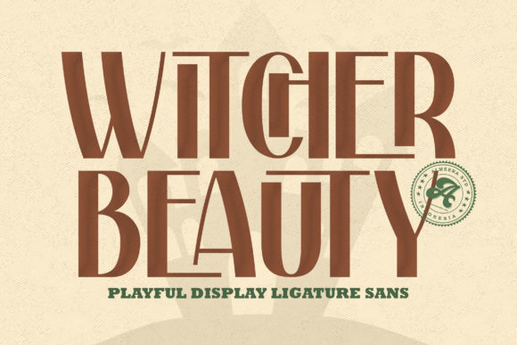 Witcher Beauty Font
