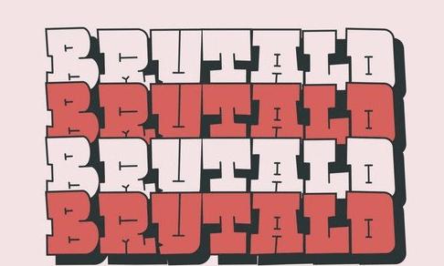 Brutald Bold Typeface