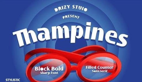Thampines Font