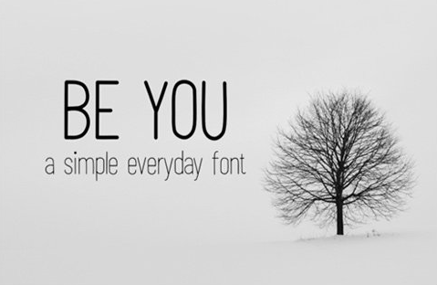 Be You Font