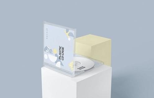 CreativeMarket - Plastic CD & Jewel Case Mockups 4646644