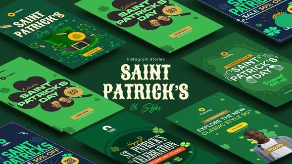 Videohive Saint Patrick's Day Instagram Stories 34083316