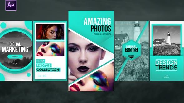Videohive Instagram Gradient Stories 34117889