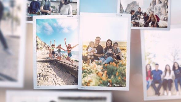 Videohive The Moments Slideshow 30485211