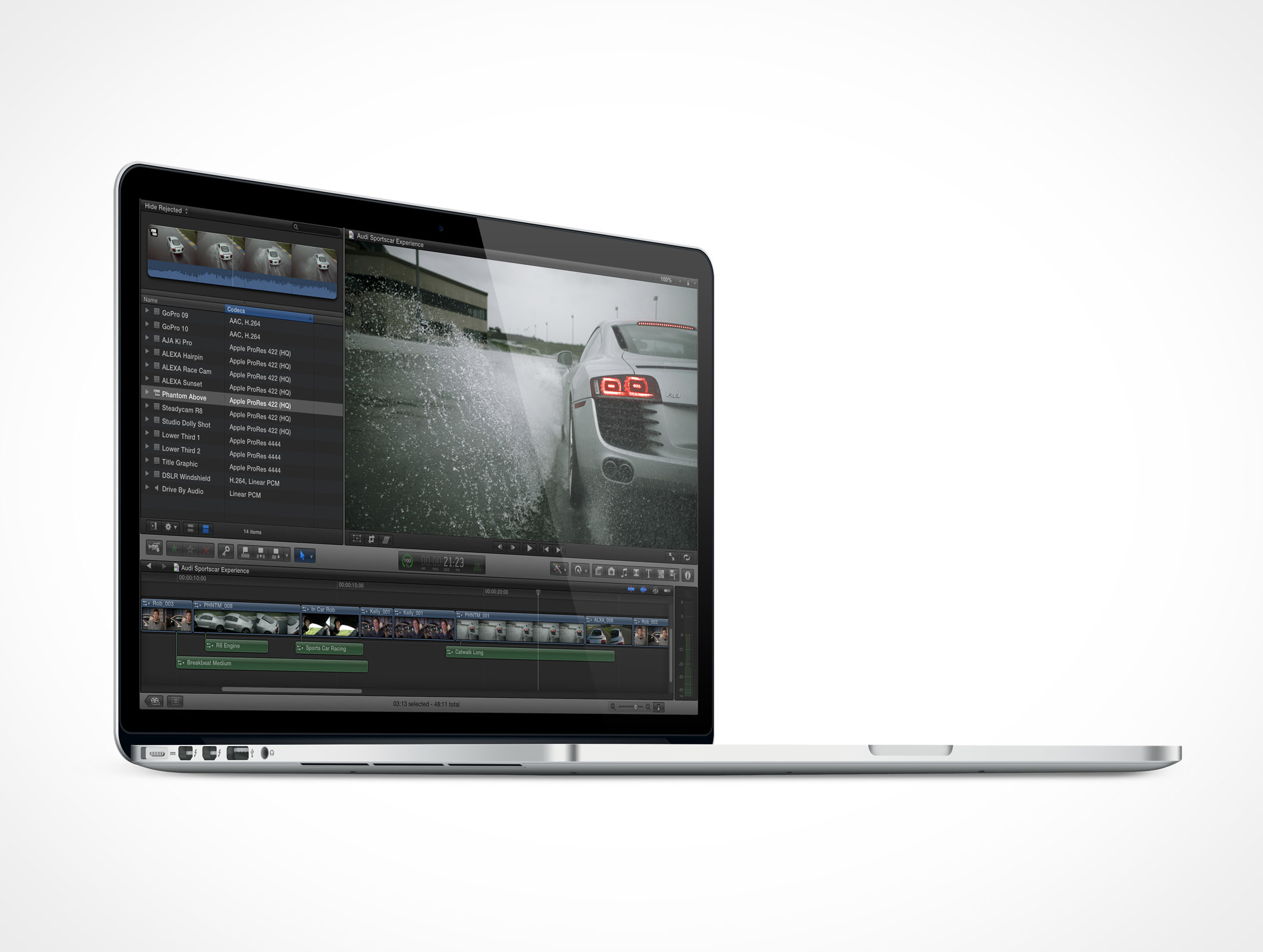 Psd Mockup Freebie Apple Macbook Pro Retina With Thunderbolt Port