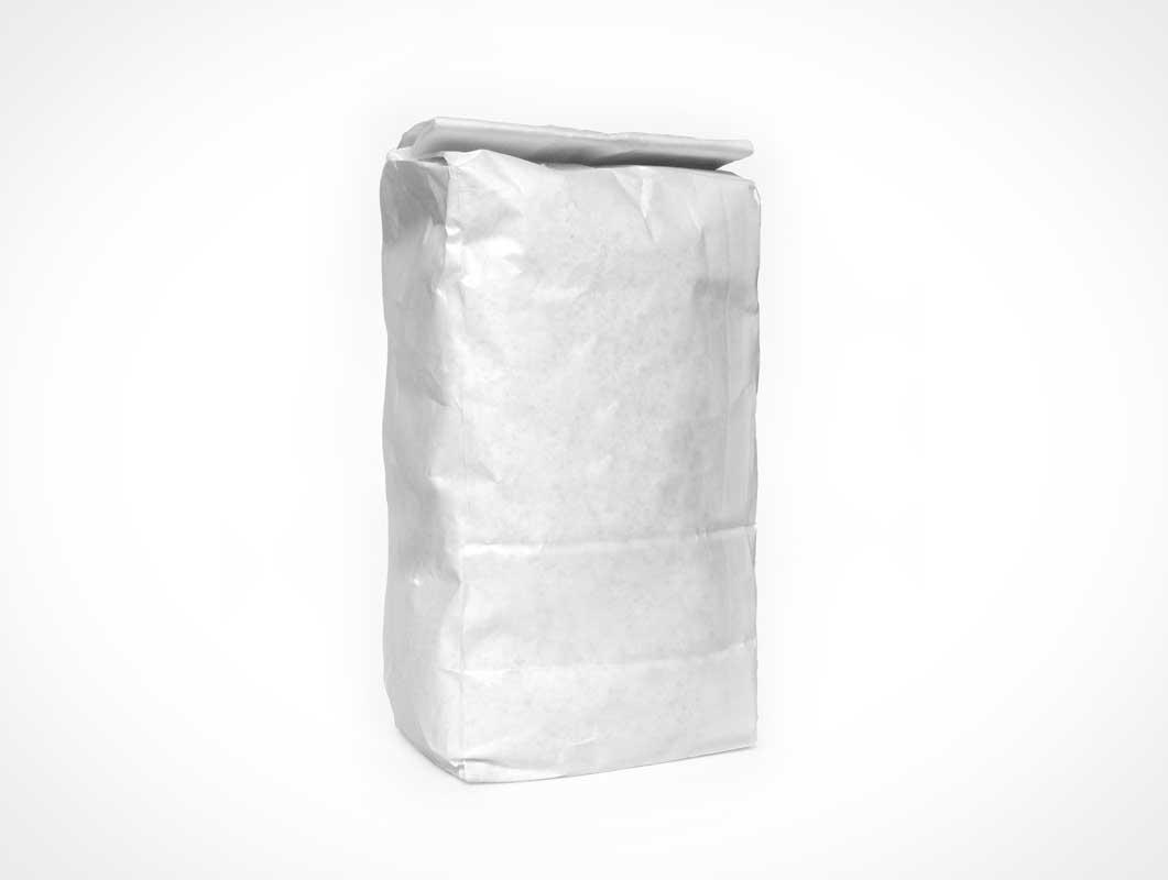 Blank Flour Bag PSD Mockup PSD Mockups