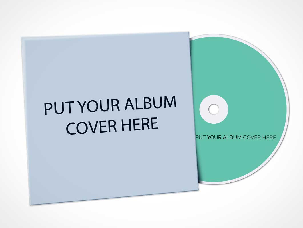 album cover mockup projects | photos, videos, logos, illustrations and branding on behance. Cd Album Cover Sleeve Psd Mockup Psd Mockups