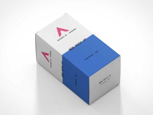 Download Cosmetic Box Or Medicine Packaging PSD Mockup - PSD Mockups