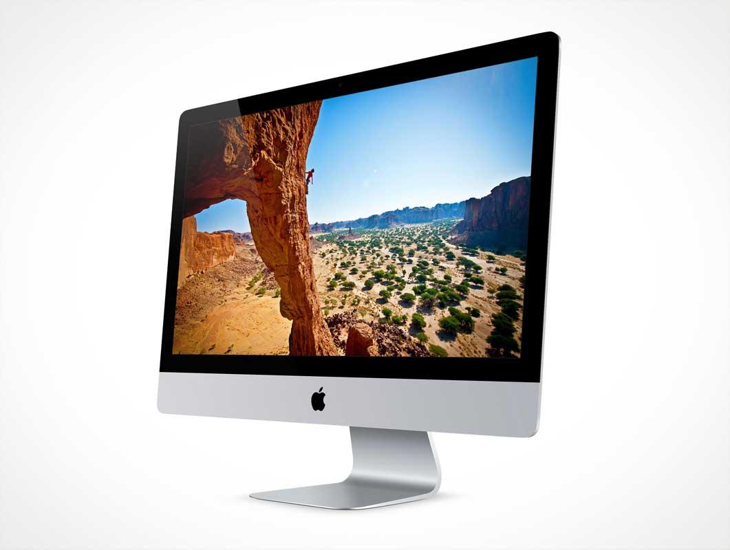 Mac Monitor Psd Monitor Psd Mockups
