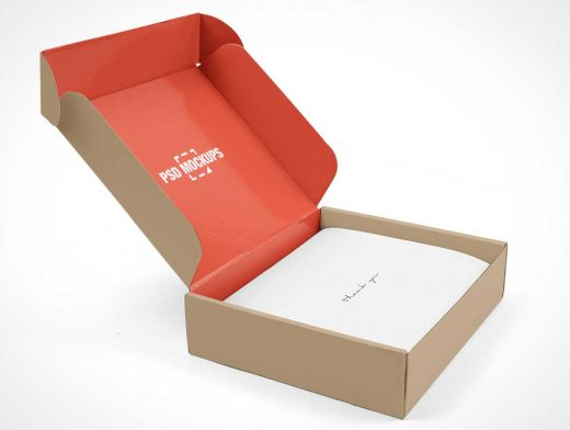 Download Open Gift Box Package Branding PSD Mockup - PSD Mockups