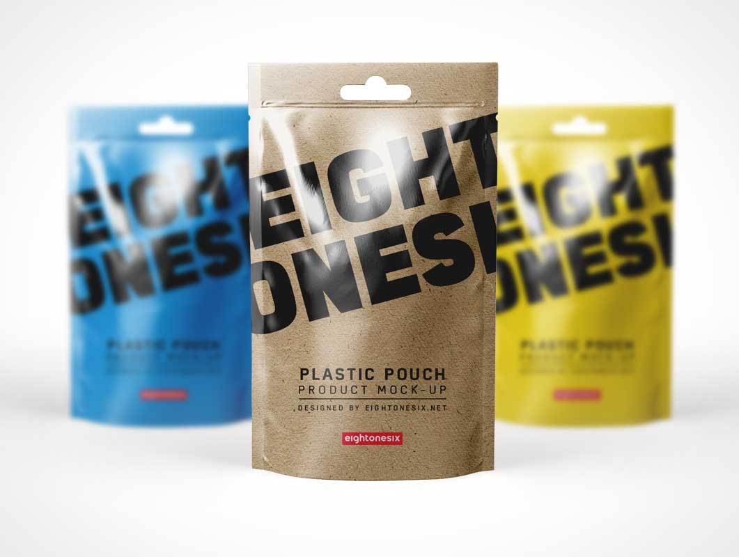 In this post, you will see various pouch mockups like for examples: Tear Off Ziplock Seal Foil Pouch Psd Mockup Psd Mockups