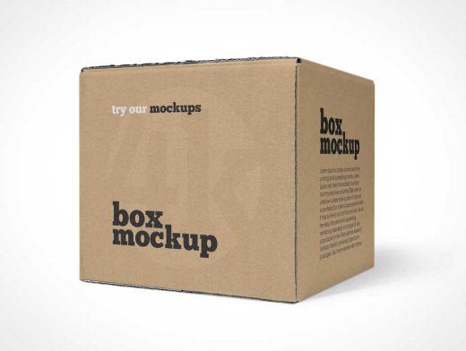 Download Mailer Shipping Box PSD Mockup - PSD Mockups