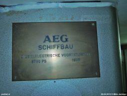 AEG Schiffbau werfbord