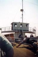 Aan dek op Malta