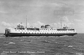 Afvaart van de Beatrix