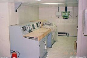 De controlekamer benedendeks krijgt langzaam vorm. Vanuit de controlekamer konden de machines in de gaten en bestuurd worden.