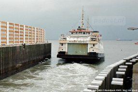 Afvaart van de Beatrix in 1986