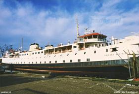 De reserveboot in 1994
