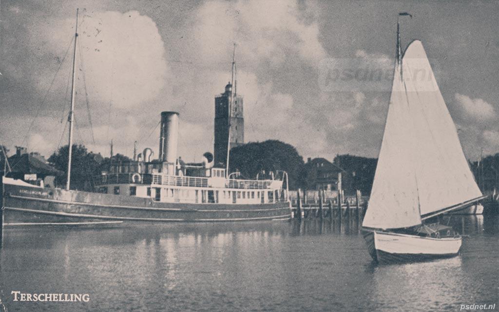Veerboot met Brandaris